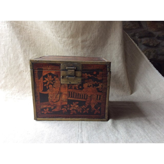Late 19th Century 19th Century Chinese Tea Caddy For Sale - Image 5 of 12