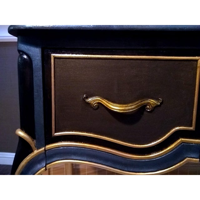 Drexel Touraine French Provincial Vanity Desk - Image 9 of 11