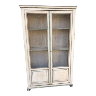 Antique Hand Painted French Bookcase