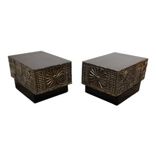 Adrian Pearsall Brutalist Side or Coffee Tables a Pair For Sale