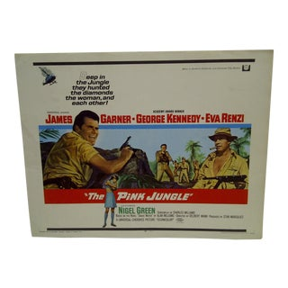 Vintage Movie Poster 'The Pink Jungle' For Sale