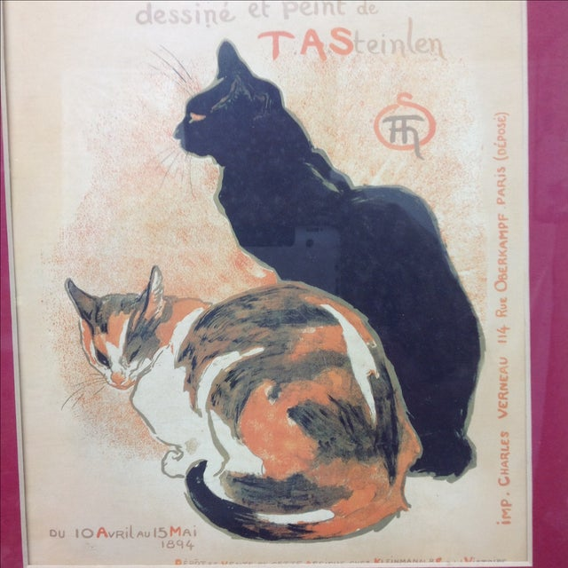 T. A. Steinlen French Exposition Poster - Image 3 of 3