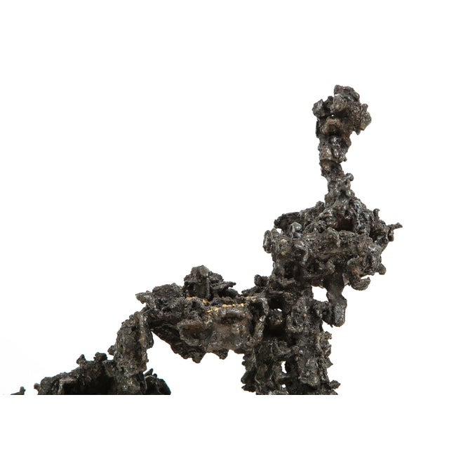 "Bronze James Bearden ""Sprawl #4"" Brutalist Sculpture For Sale - Image 7 of 11"