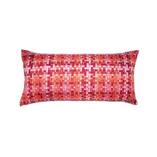 """Bolduc Au Carre"" Hermès Silk Scarf Pillow For Sale"