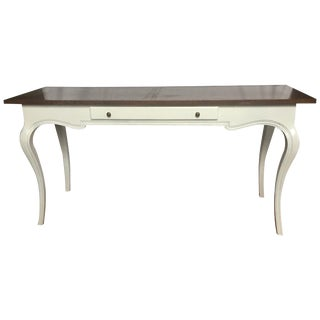 1960s French Provincial John Stuart Console Sofa Table For Sale