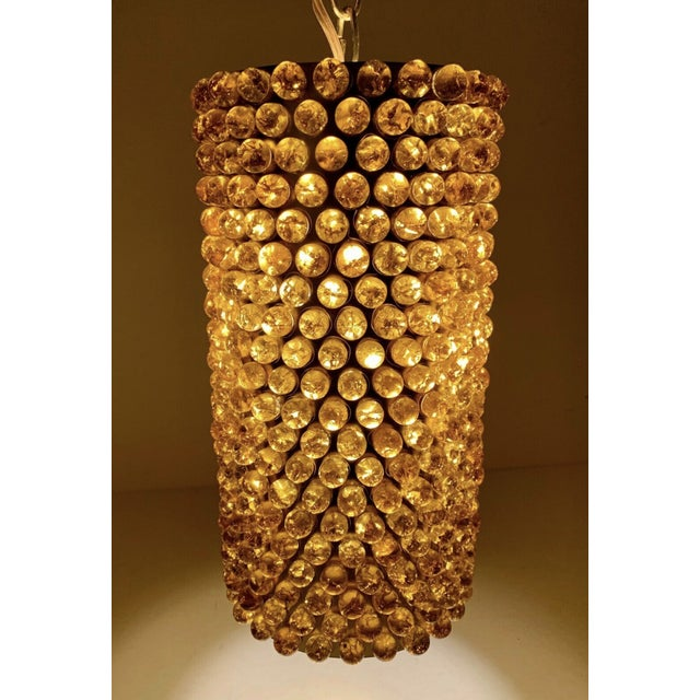 swag of gold vintage lamps made