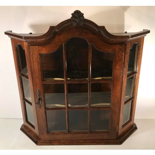 20th Century French Country Wooden Wall Cabinet Preview