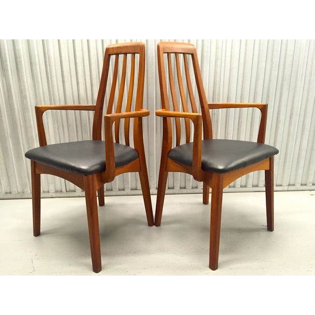 Svegards Marka Teak Dining Chairs - Set of 4 - Image 5 of 11