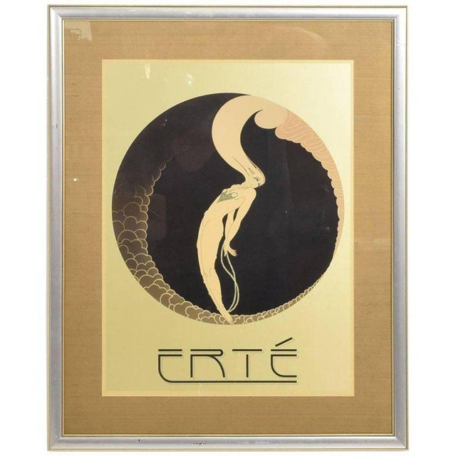 Paper Romain De Tirtoff Erte Art Deco Poster For Sale - Image 7 of 7