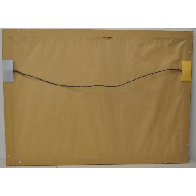 Larry Poons Artist Proof Abstract Lithograph C.1970s For Sale In San Francisco - Image 6 of 7