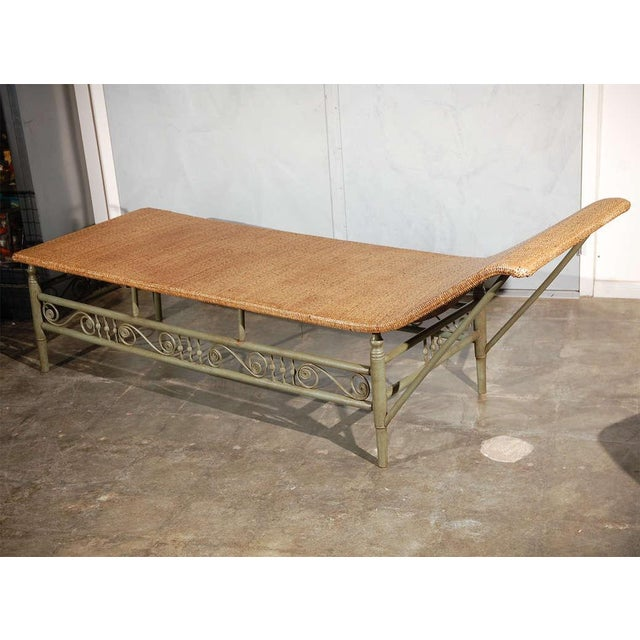Antique Heywood Wakefield Chaise Lounge For Sale In Los Angeles - Image 6 of 9