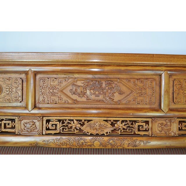 19th-C. Chinese Qing Dynasty Bed - Image 10 of 10