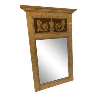 Neoclassical Trumeau Mirror For Sale