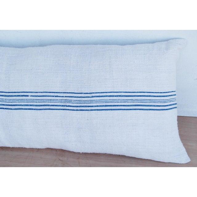 Long French Homespun Body Pillow - Image 5 of 8