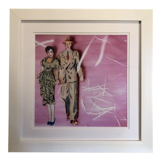 Paper Doll Series #3 Print by Michelle Workman For Sale