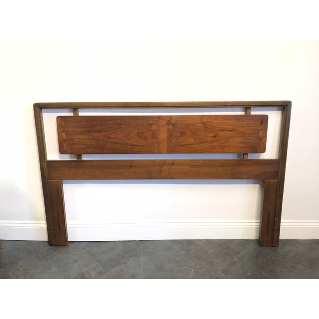 Mid-Century Lane Acclaim Full / Queen Walnut Headboard For Sale - Image 9 of 9