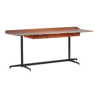 Osvaldo Borsani First Edition T90 Desk, Italy, 1950s For Sale