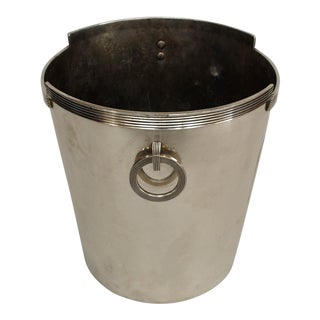 American Art Deco Chrome Plated Champagne Bucket