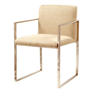 Verona Stainless Steel Dining Chair For Sale