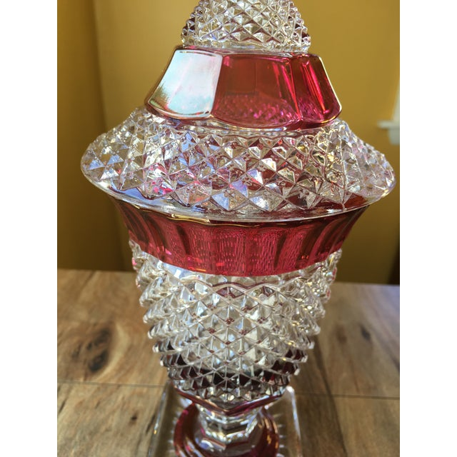 Westmoreland Glass English Hobnail Large Candy Dish For Sale In Providence - Image 6 of 8