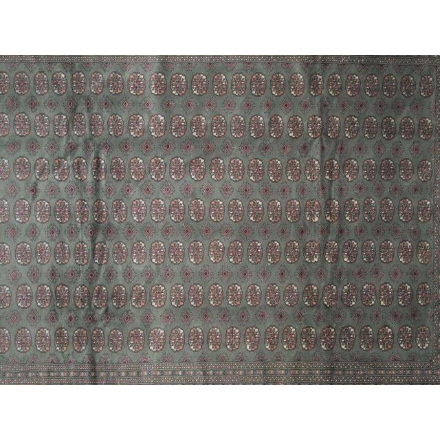 """Royal Bokara Green & Red Rug -- 9'5"""" x 11'9"""" - Image 4 of 6"""