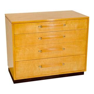 Johnson Furniture Co. Eliel Saarinen Low Dresser For Sale