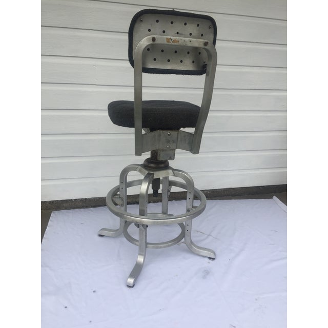 Industrial 1960s Industrial Swivel Lab Stool For Sale - Image 3 of 10