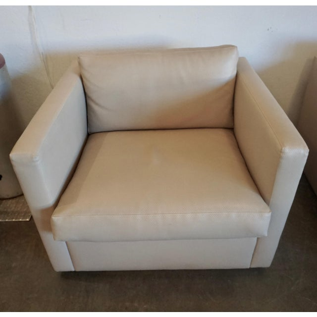 Mid-Century Modern Charles Pfister for Knoll Lounge Chairs - a Pair For Sale - Image 3 of 10