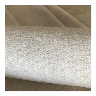 Perennial Soft Chalk Outdoor Fabric - 3 3/4 Yards For Sale