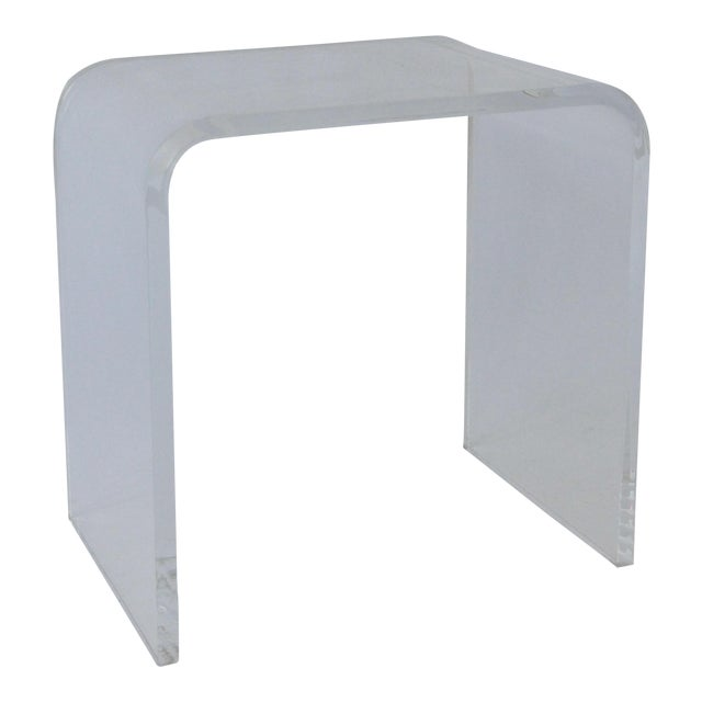 Vintage Lucite Side Table - Image 1 of 5