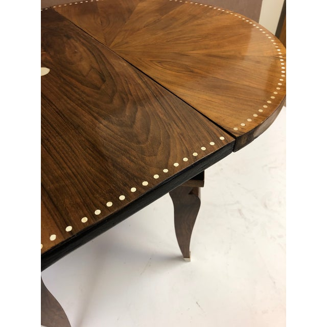 1930s French Art Deco Adjustable Table For Sale - Image 9 of 11