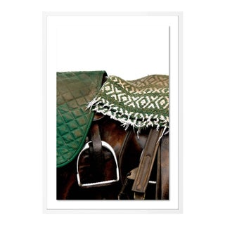 Saddle by Holly Roesch Contemporary Photograph in White Frame, Small For Sale