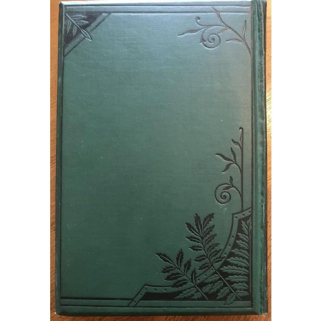 """We received this from a local estate. Antique gilded & embossed hardcover book with original illustrations. 5 1/8""""W x 1""""D..."""