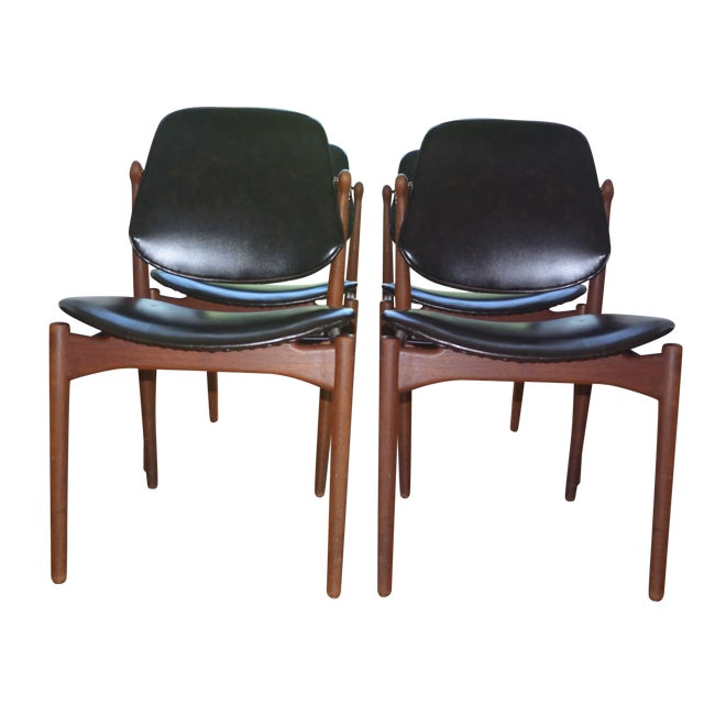 Arne Vodder Mid-Century Chairs - Set of 4 - Image 1 of 9