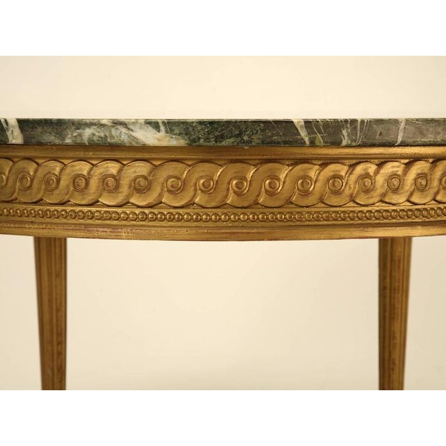 French Louis XVI Style Coffee Table For Sale - Image 4 of 10