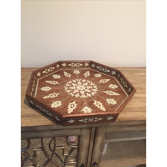 Mother Of Pearl Inlaid Tray - Image 2 of 3