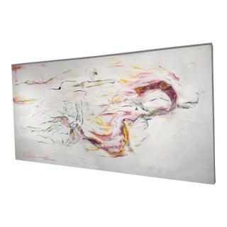 Abstract Multi-Media Acrylic Painting