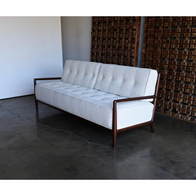 Danish Modern T.H. Robsjohn-Gibbings Sofa for Widdicomb, Circa 1955 For Sale - Image 3 of 12