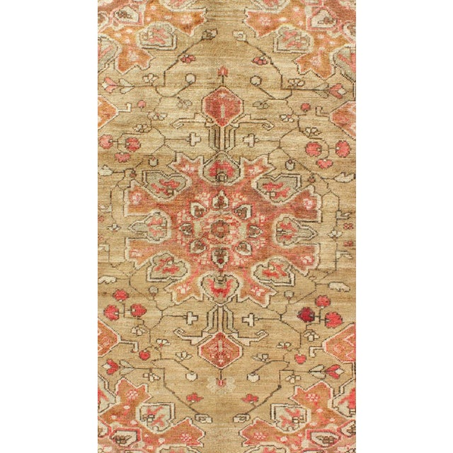 Islamic Vintage Mid-Century Persian Rug - 4′2″ × 6′4″ For Sale - Image 3 of 11