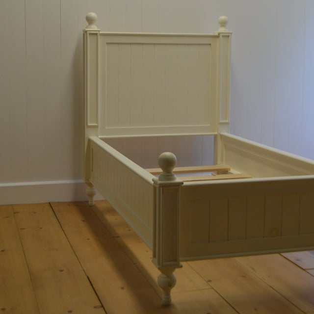 Farmhouse Style Beadboard Bed - Image 3 of 5