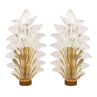 1960s Barovier & Toso Sconces - a Pair For Sale