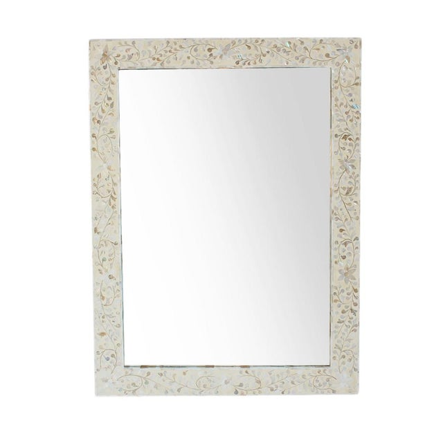 Mother of Pearl Inlay Mirror - Image 1 of 2
