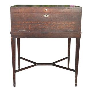 Antique 1900s Kitchen Wooden Utensils Table For Sale