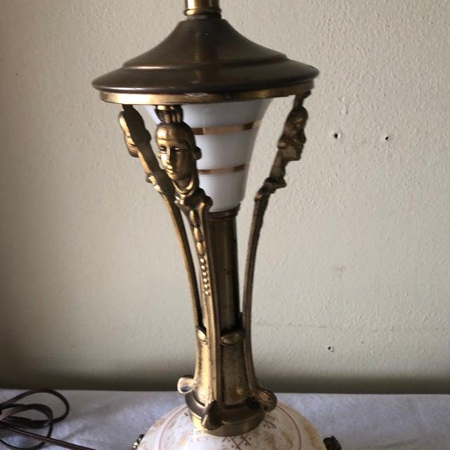 1940s Vintage Art Nouveau Table Lamp Chairish