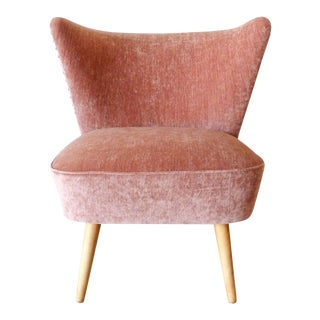1950s Danish Cocktail Chair For Sale