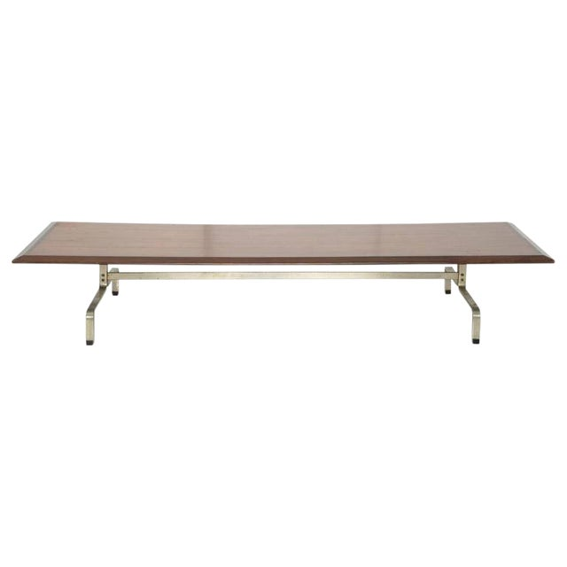 Poul Kjaerholm Pk-31 Coffee Table With Rosewood Top For Sale