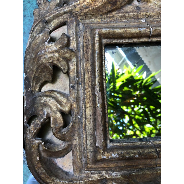 18th Century Small Italian Mirror For Sale - Image 9 of 13