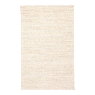 Jaipur Living Canterbury Handmade Solid White & Beige Area Rug - 9'x12'