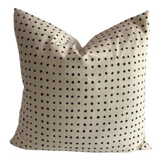 Boho Chic Pins Organic Cotton Pillow For Sale