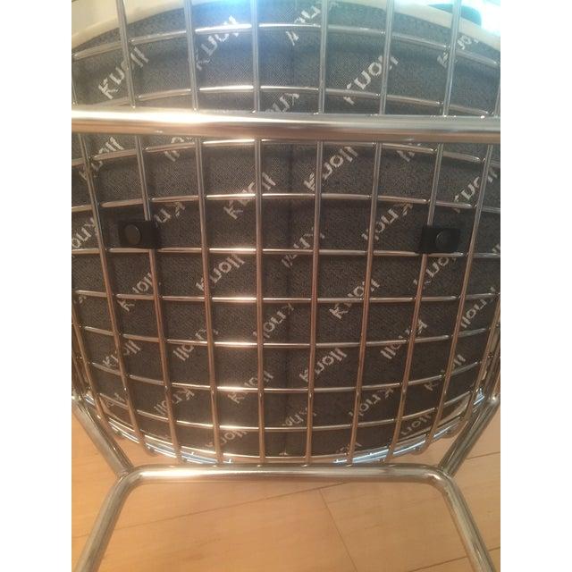 Knoll Bertoia Chrome Bar Stools - Set of 3 - Image 4 of 11